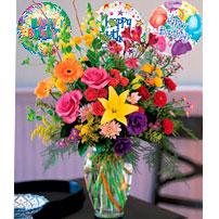 Birthday Flowers, Ecuador